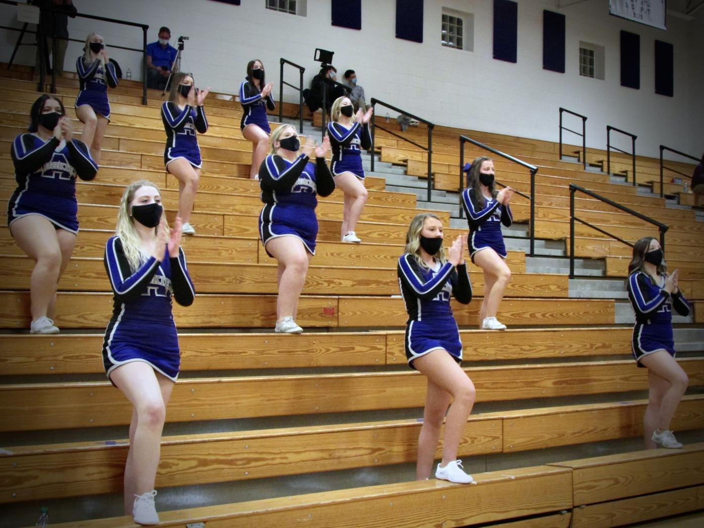 Varsity Cheerleaders Jan. 13