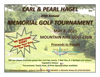25th Annual Carl and Pearl Hagel Golf Tournament