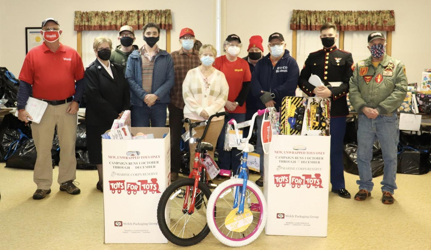 Toys for Tots group photo 2020