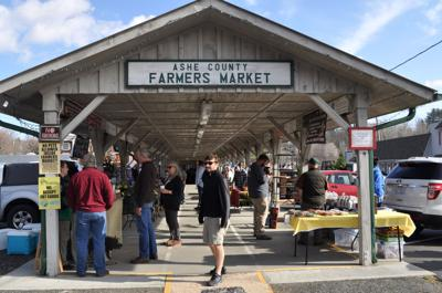 Farmers Market shelter
