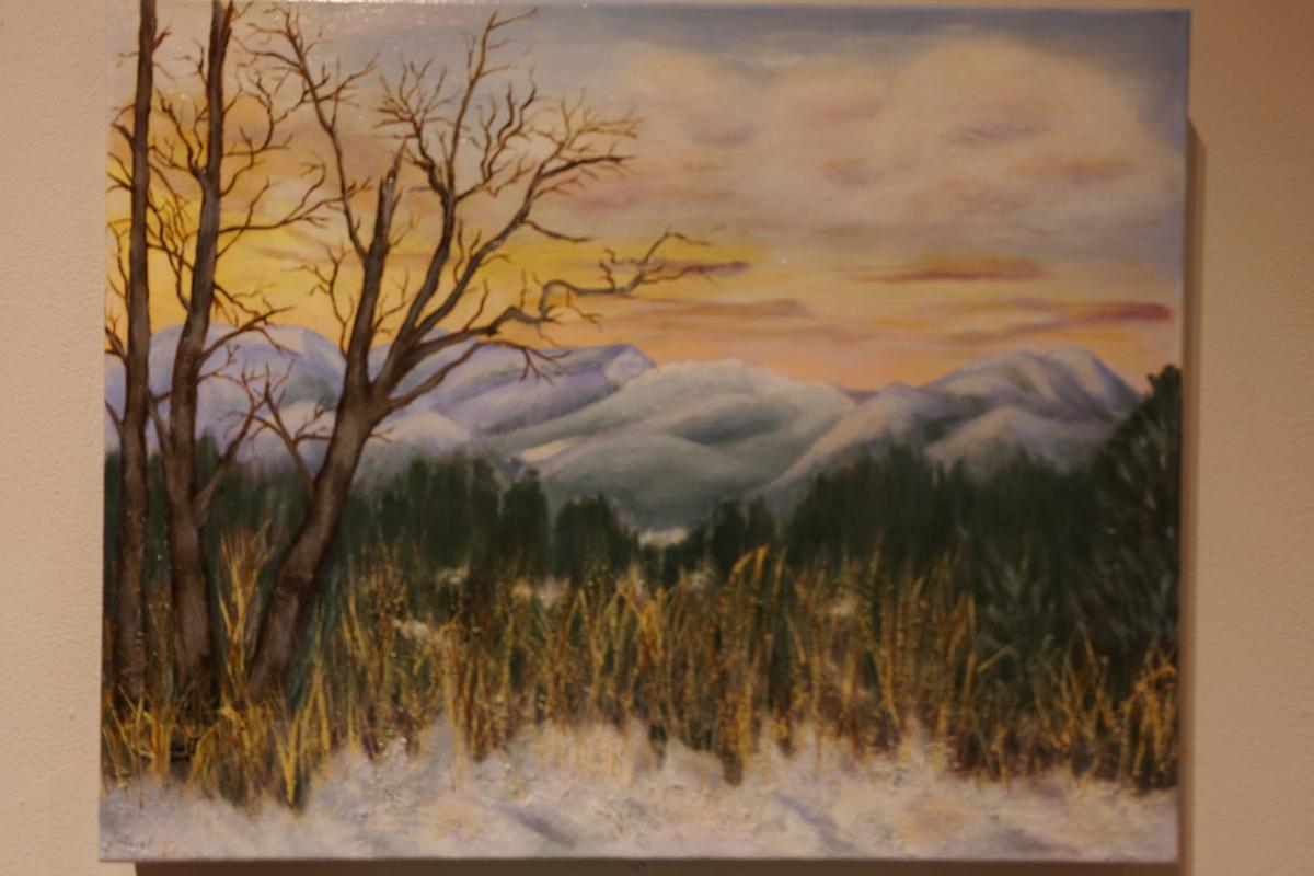 'Western Ridge' by Susan Jesperson.