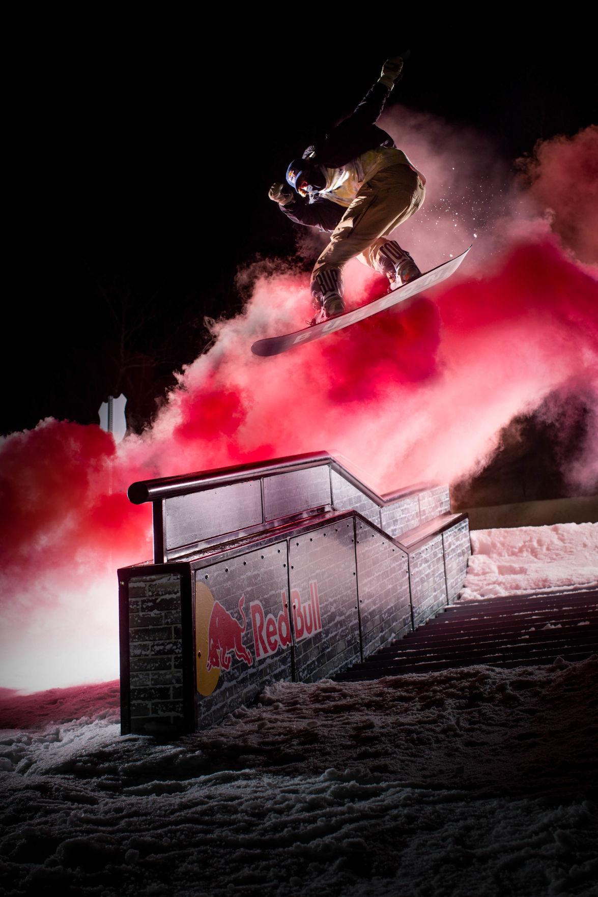 Luke Winkelmann in slopestyle
