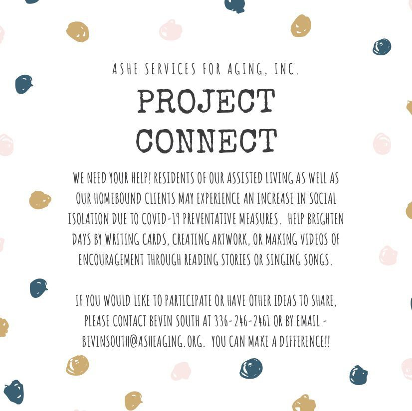 Project Connect Flyer