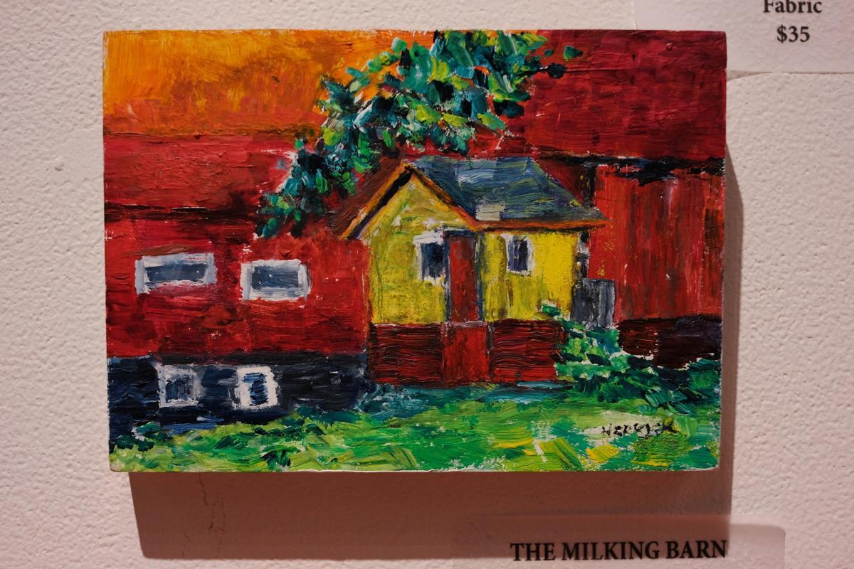 """""""The Milking Barn"""" by Annehart Herrick."""