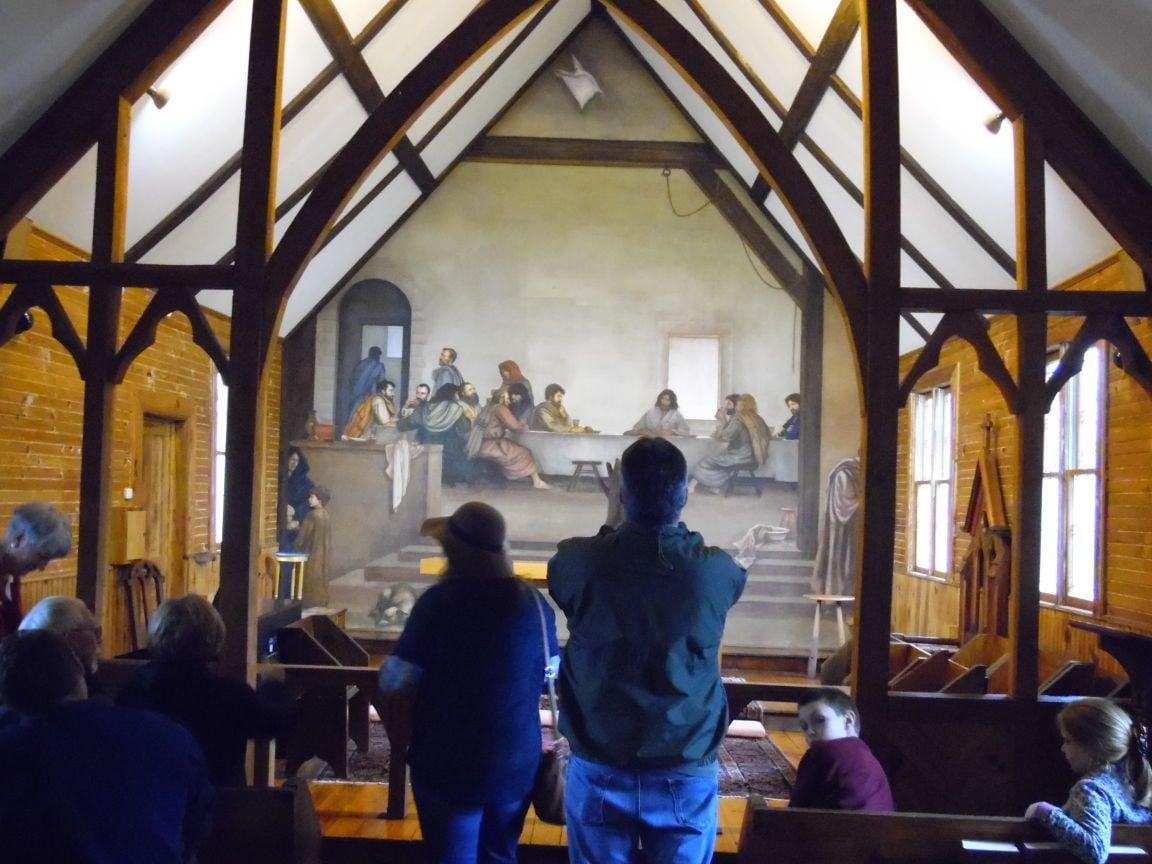 Quick photo of the fresco