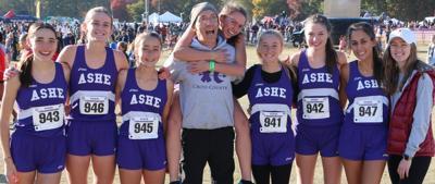 Lady Huskies at State Championship