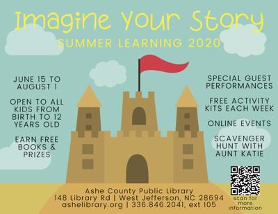 Ashe County Summer Reading Program 2020