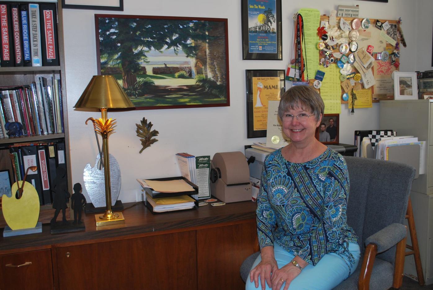 Jane Lonon in her office