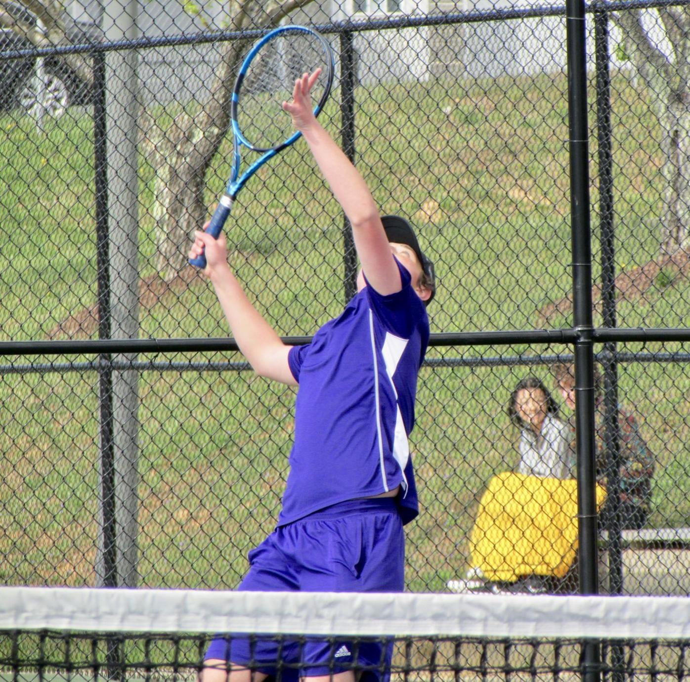 Jake Reavis 4/14 serve