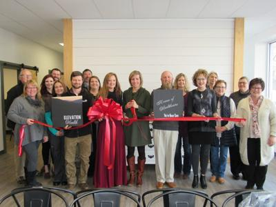 Elevation Health ribbon cutting