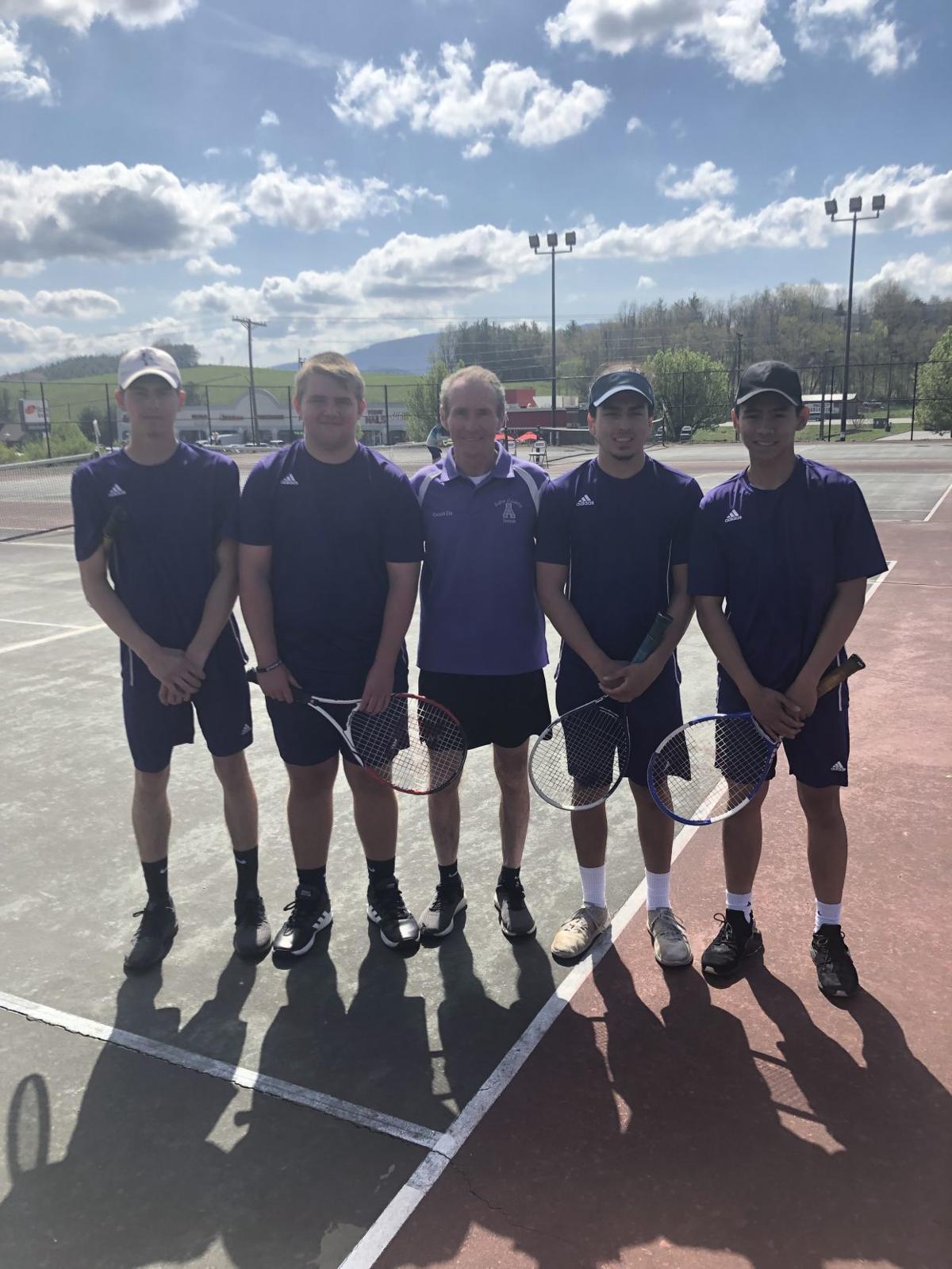 Senior Night Tennis