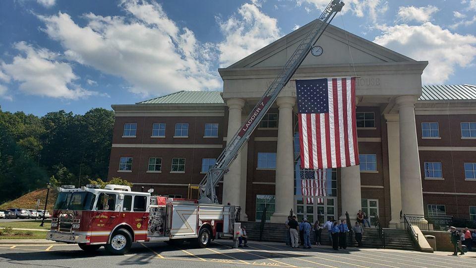 Ashe County 9/11 memorial service