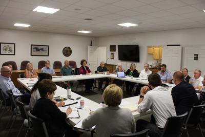 Joint meeting of commissioners and board of ed