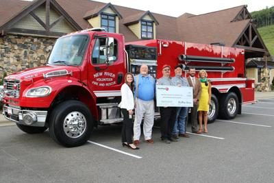 Blue Ridge Energy awards funds to New River Volunteer Fire and Rescue