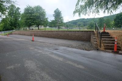 Library parking expansion