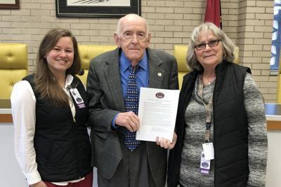 Caldwell Hospice and Mayor Baldwin