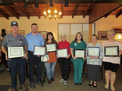 Chamber of Commerce presents customer service awards