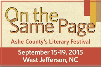 Ashe County Literary Festival gets 'On the Same Page'