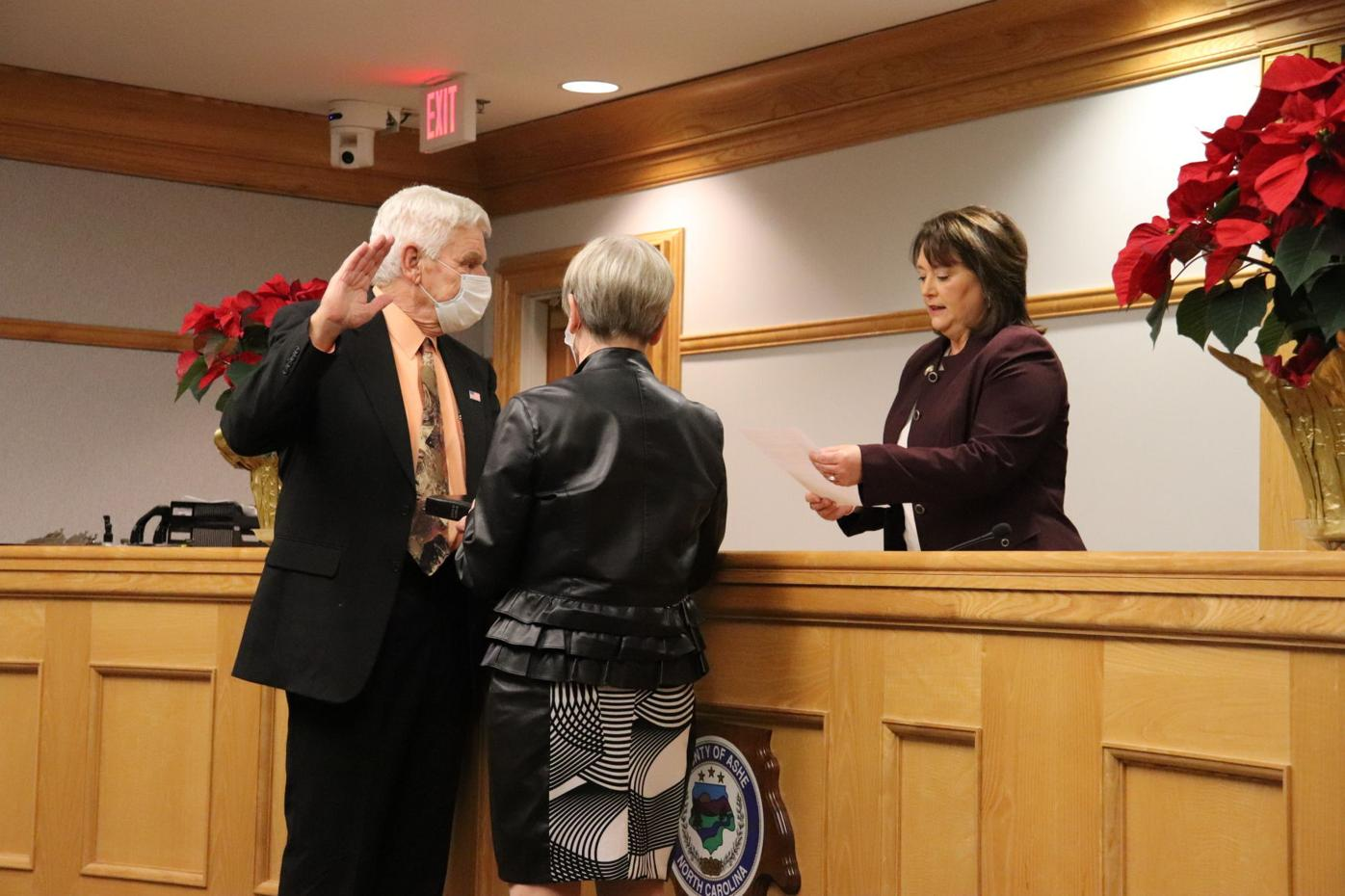 Williams Sands swearing in
