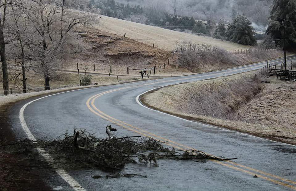 Ice storm Feb. 18 2021 1