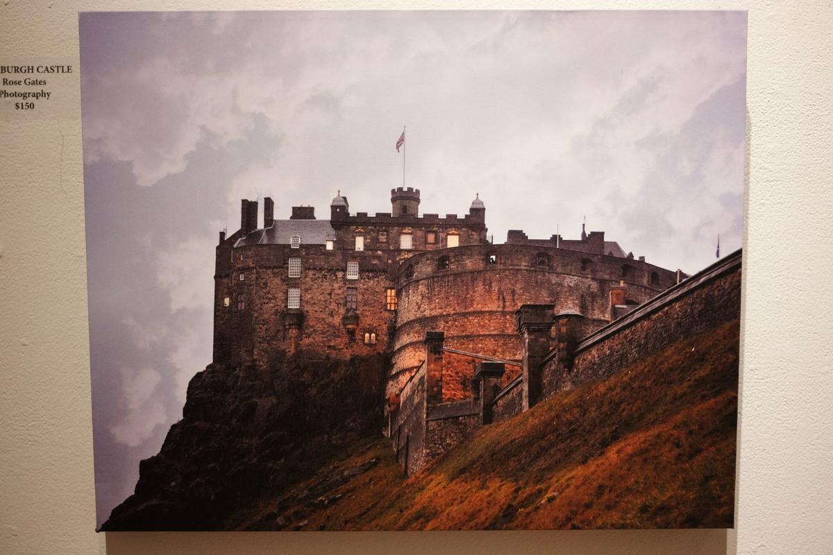 'Edinburgh Castle' by Rose Gates.