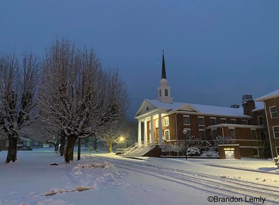 Ashe County snow 1/8 76