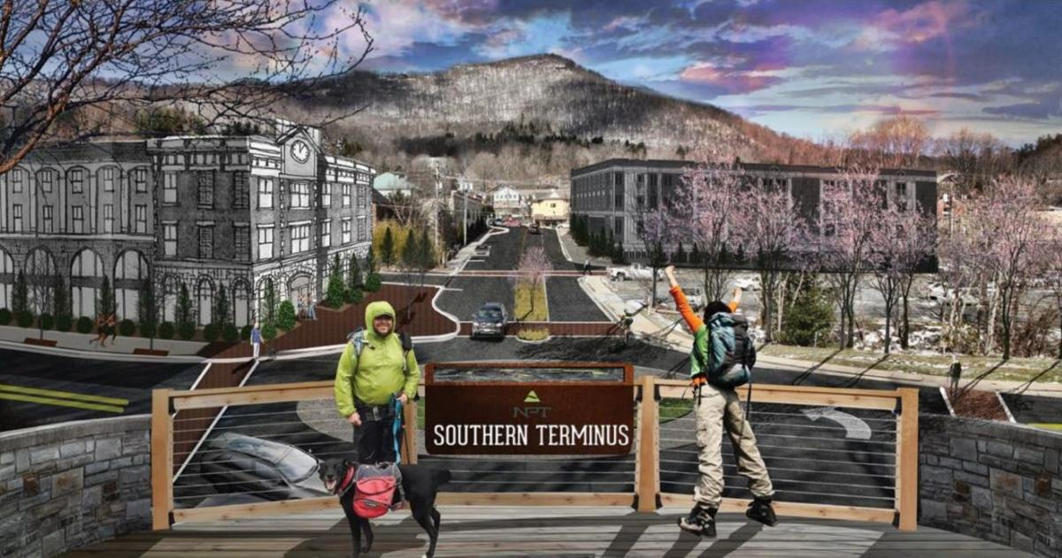 Northern Peaks Trail southern point concept