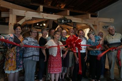 Bryer Patch Ribbon Cutting