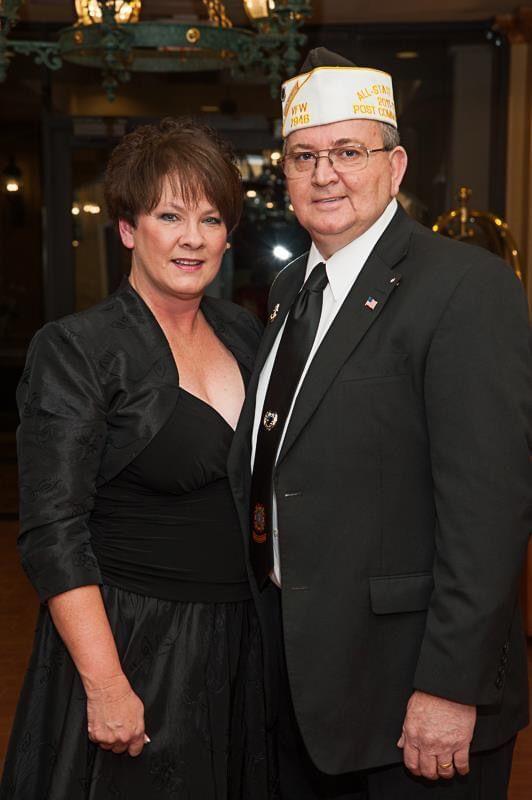 VFW banquet Bill and Susan Carter
