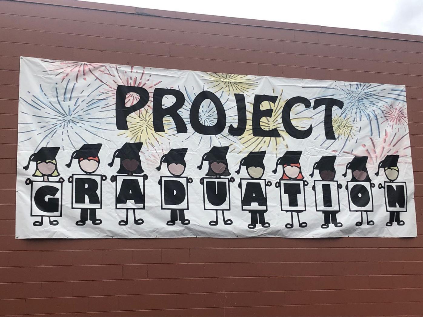 Project Grad sign