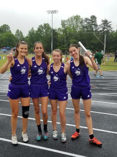 relay regionals girls