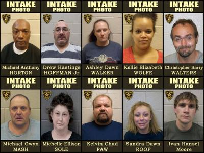 ACSO: 10 arraigned in federal, state court on narcotics charges