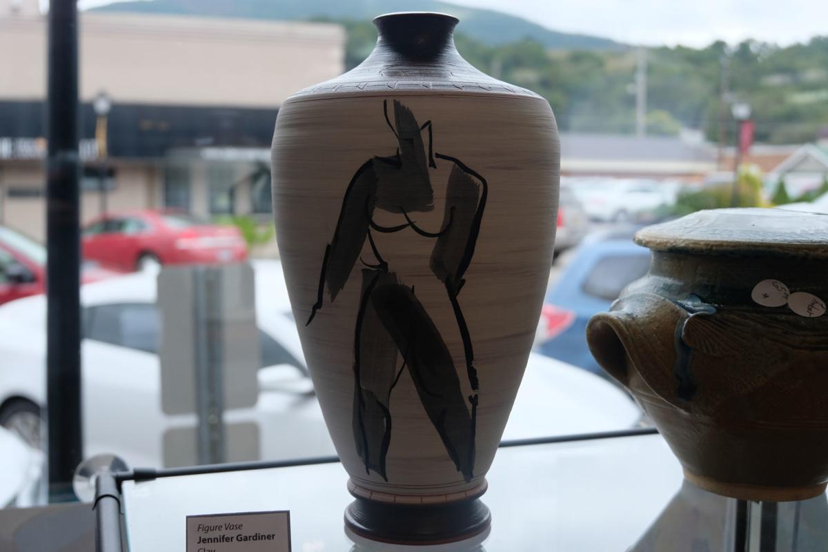 'Figure Vase' by Jeffifer Gardiner.