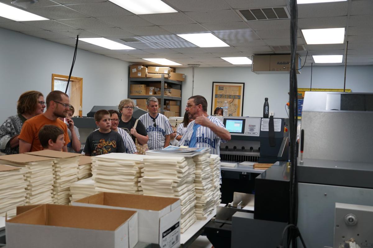 McFarland printing tour