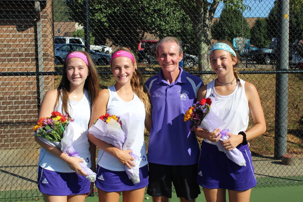 Tennis Senior Recognition