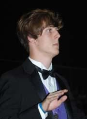 Caleb Hennington and Flag Line Lead HHS Band in Performances