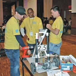 Robotics Team Fifth Among 17 In their First Year of Competition