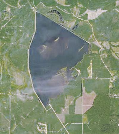 Lake GP satellite view