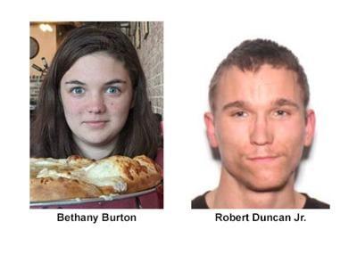 BETHANY BURTON AND ROBERT DUNCAN JR.