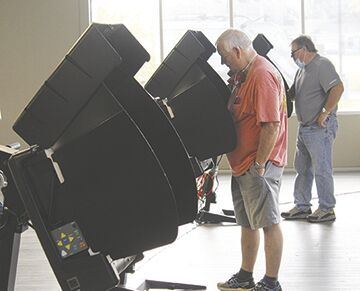 Turnout high for early voting