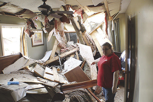 Four tornadoes wreak havoc across Ashley County Jan. 11