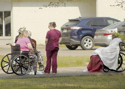 Nursing home evacuated following small fire