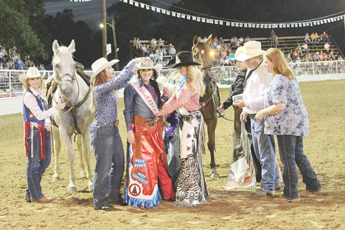 RODEO QUEEN CROWNED IN AUGUST 2018