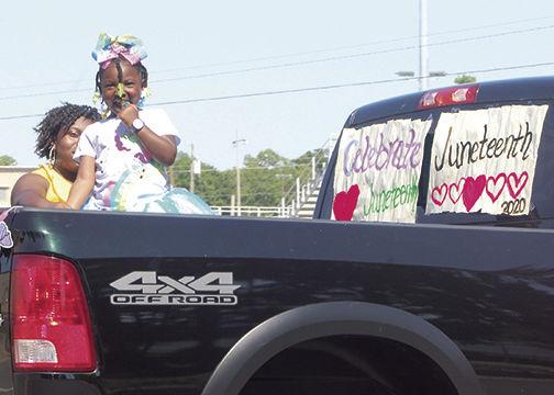 Juneteenth parade 1