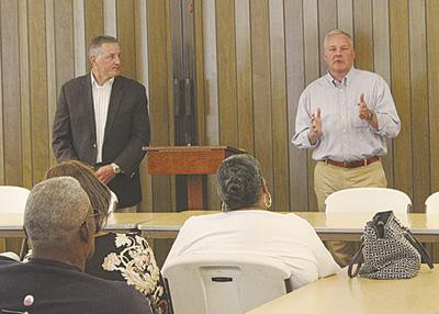 Griffin, Westerman visit to discuss life after GP layoffs