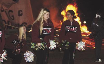 Crossett burns with pride at community pep rally