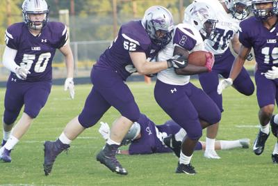 Hamburg takes to the field for annual Purple and White scrimmage