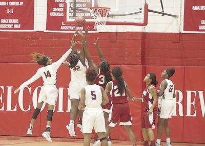 Lady Eagles claim two of three tournament games
