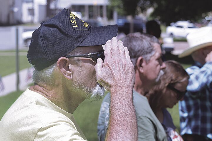 Veteran salutes fallen brothers and sisters