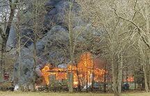 Fires destroy residences, claim one life
